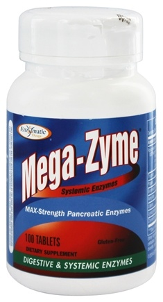 Enzymatic Therapy - Mega-Zyme Systemic Enzymes - 100 Tablets