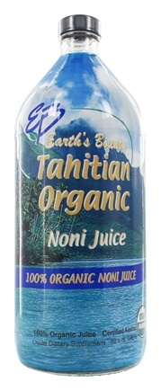 Earth's Bounty - Organic Noni Juice from Tahiti - 32 oz.