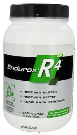 DROPPED: Endurox - R-4 Carbohydrate Protein Formula Lemon-Lime - 4.63 lbs.