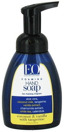 DROPPED: EO Products - Foaming Hand Soap Coconut & Vanilla with Organic Tangerine - 8.5 oz.