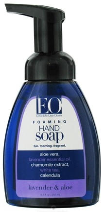 DROPPED: EO Products - Foaming Hand Soap Lavender & Aloe - 8.5 oz.