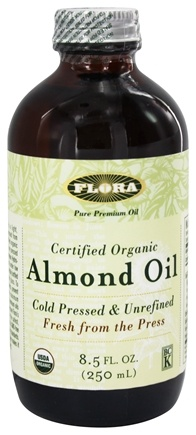 Flora - Almond Oil Certified Organic - 8.5 oz.