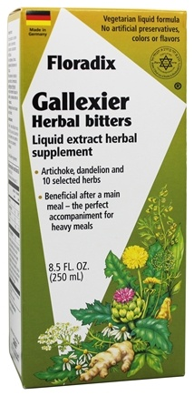 Flora - Floradix Gallexier Herbal Bitters - 8.5 oz.