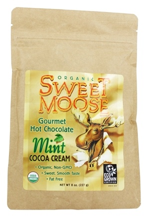 Zoom View - Sweet Moose Gourmet Hot Chocolate Organic Cocoa