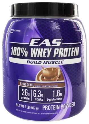 DROPPED: EAS - 100% Whey Protein Powder Chocolate - 2 lbs.