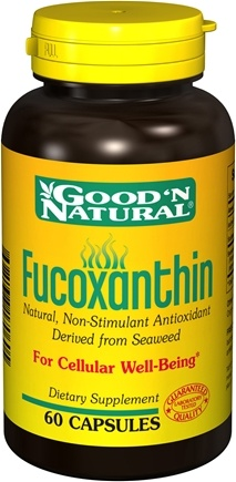 DROPPED: Good 'N Natural - Fucoxanthin - 60 Capsules