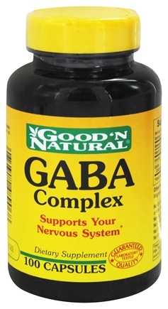 DROPPED: Good 'N Natural - GABA Complex - 100 Capsules