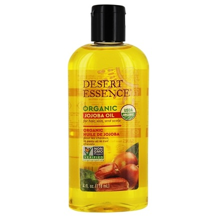 Desert Essence - Organic Jojoba Oil - 4 oz. LUCKY PRICE