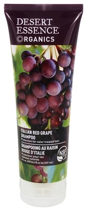 Desert Essence - Shampoo Italian Red Grape - 8 oz. LUCKY PRICE