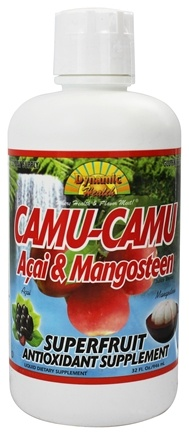 Zoom View - Camu-Camu Juice Fortified with Acai and Mangosteen