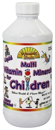 DROPPED: Dynamic Health - Children's Liquid Multi Vitamin & Mineral - 8 oz.
