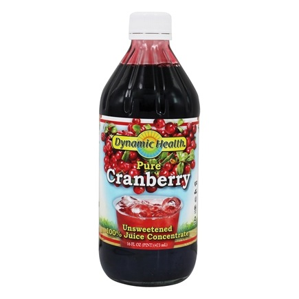 Dynamic Health - Juice Concentrate 100% Pure Cranberry - 16 oz.