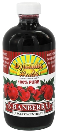 Dynamic Health - Juice Concentrate 100% Pure Cranberry - 8 oz.