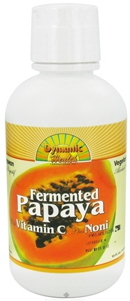 DROPPED: Dynamic Health - Fermented Papaya with Vitamin C plus Noni - 16 oz. CLEARANCE PRICED