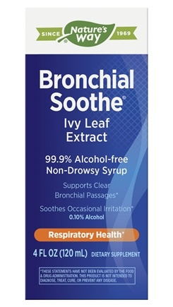 Enzymatic Therapy - Bronchial Soothe Ivy Leaf Syrup - 100 ml.