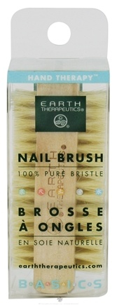 DROPPED: Earth Therapeutics - Genuine Bristle Nail Brush - CLEARANCE PRICED