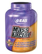 DROPPED: EAS - Mass Factor Chocolate - 8 lbs.