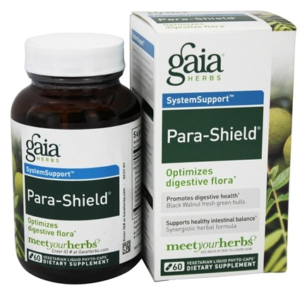 DROPPED: Gaia Herbs - SystemSupport Para-Shield Liquid Phyto Capsules - 60 Vegetarian Capsules
