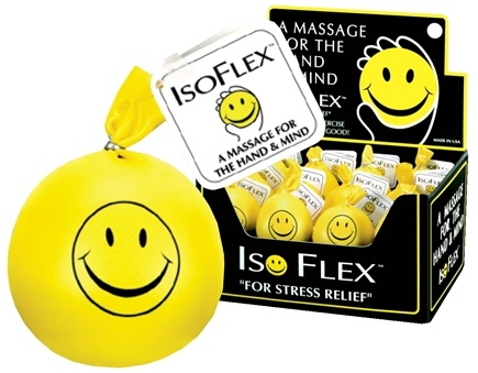 "Zoom View - Isoflex Stress Ball ""For Stress Relief"""