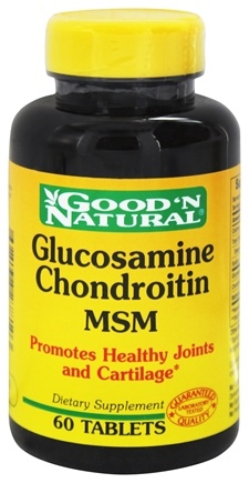 DROPPED: Good 'N Natural - Glucosamine Chondroitin MSM - 60 Tablets