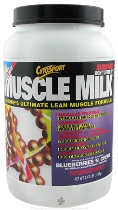 DROPPED: Cytosport - Muscle Milk Ultimate Lean Muscle Formula Blueberries 'N Creme - 2.48 lbs. CLEARANCE PRICED