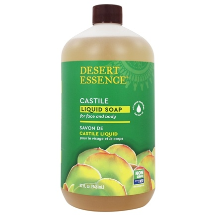 Desert Essence - Castile Liquid Soap With Eco-Harvest Tea Tree Oil - 32 oz. LUCKY PRICE