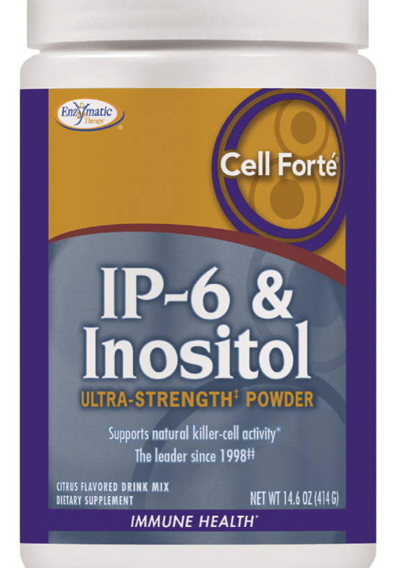 Cell Forte With IP6 & Inositol Ultra Strength Powder - 14 6 oz  by