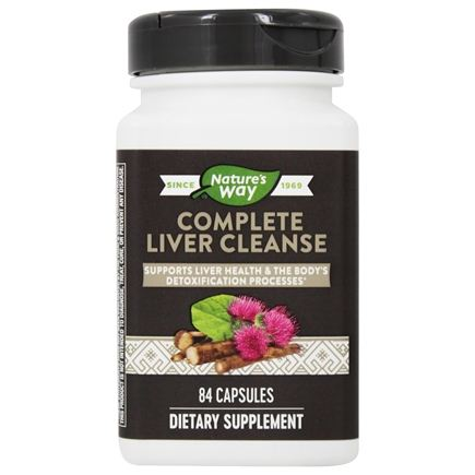 Enzymatic Therapy - Complete Liver Cleanse - 84 Vegetarian Capsules