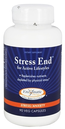 DROPPED: Enzymatic Therapy - Stress End for Active Lifestyles - 90 Vegetarian Capsules