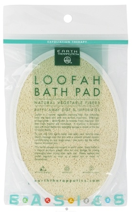DROPPED: Earth Therapeutics - Loofah Bath Pad - 1 Pad(s) CLEARANCE PRICED