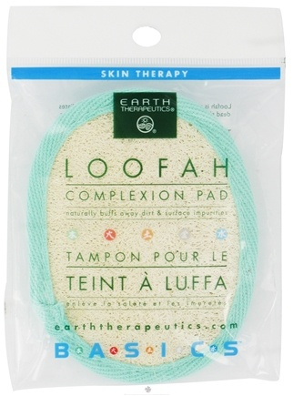 DROPPED: Earth Therapeutics - Loofah Complexion Pad - 1 Pad(s) CLEARANCE PRICED