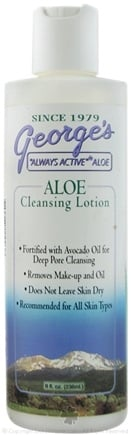 DROPPED: George's Aloe - Aloe Cleansing Lotion - 8 oz.