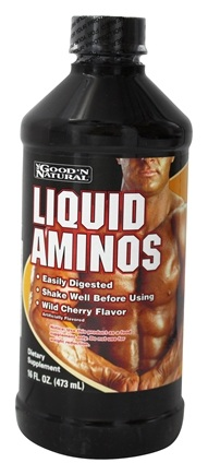 DROPPED: Good 'N Natural - Liquid Aminos Wild Cherry Flavor - 16 oz.