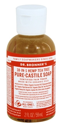 Dr. Bronners - Magic Pure-Castile Soap Organic Tea Tree - 2 oz.