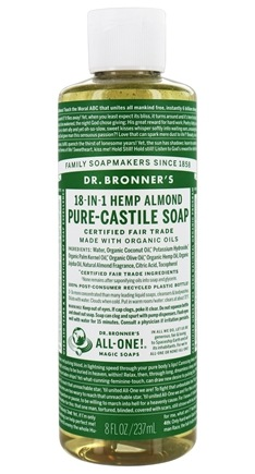 Dr. Bronners - Magic Pure-Castile Soap Organic Almond - 8 oz.