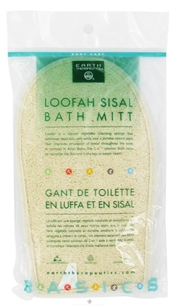 DROPPED: Earth Therapeutics - Loofah Sisal Bath Mitt - CLEARANCE PRICED