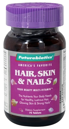 DROPPED: Futurebiotics - Hair Skin & Nails For Women - 75 Tablets