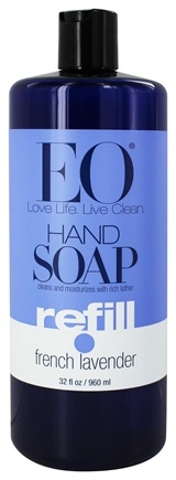 EO Products - Hand Soap Refill French Lavender - 32 oz.