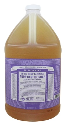 Dr. Bronners - Magic Pure-Castile Soap Organic Lavender - 128 oz. - 1 Gallon