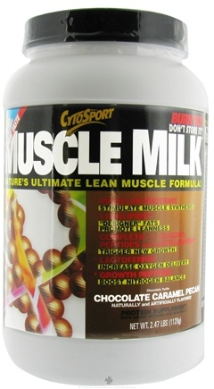 DROPPED: Cytosport - Muscle Milk Ultimate Lean Muscle Formula CLEARANCE PRICED Chocolate Caramel Pecan - 2.48 lbs.