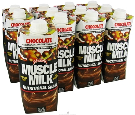 DROPPED: Cytosport - Muscle Milk Lean Muscle Formula RTD High Protein Shake Chocolate - 17 oz.