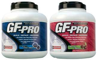 DROPPED: Ergopharm - GF Pro Dietary Supplement Whey Protein Isolate Blueberry Madness - 5 lbs.