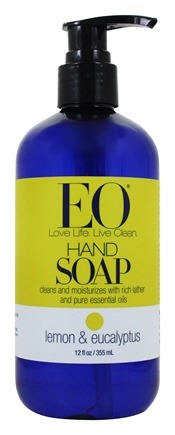 EO Products - Hand Soap Lemon & Eucalyptus - 12 oz.