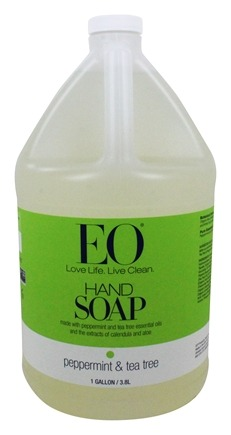 EO Products - Hand Soap Peppermint & Tea Tree - 1 Gallon
