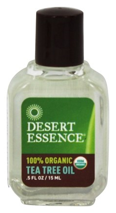 Desert Essence - Tea Tree Oil 100% Organic - 0.5 oz. LUCKY PRICE