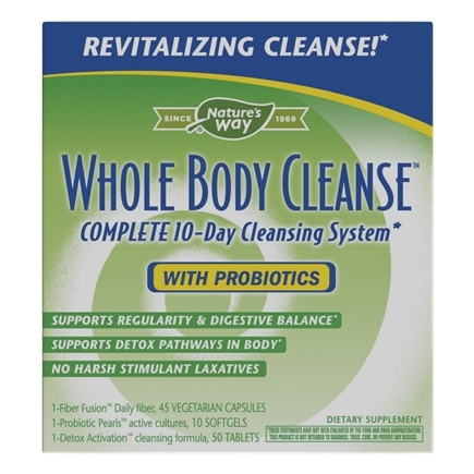 Zoom View - Whole Body Cleanse Complete 10-Day Cleansing System