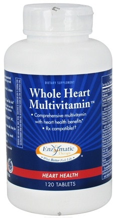 DROPPED: Enzymatic Therapy - Whole Heart Multivitamin - 120 Tablets