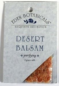 DROPPED: Eden Botanicals - Desert Balsam Soap Stone Refill - 2 Grams CLEARANCE PRICED