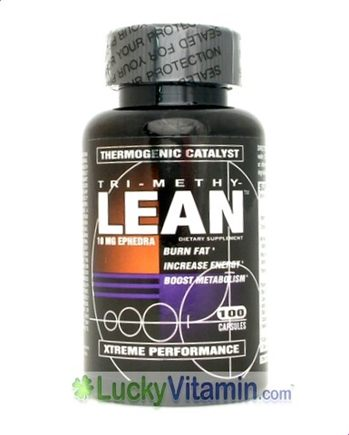DROPPED: EG Labs - Tri-methy LEAN - 100 Capsules
