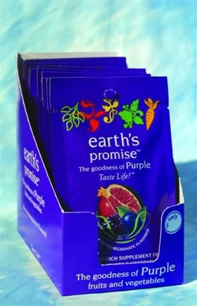 DROPPED: Enzymatic Therapy - Earth's Promise Drink Mix Travel Size Berry Pomegranate Flavor - 1 Packet(s)